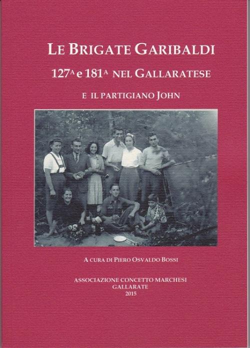 fronte copertina libro le brigate garibaldi 127... bri
